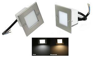 Gradini per scale illuminazione parete ray 230v led 1 5w=15w ebay