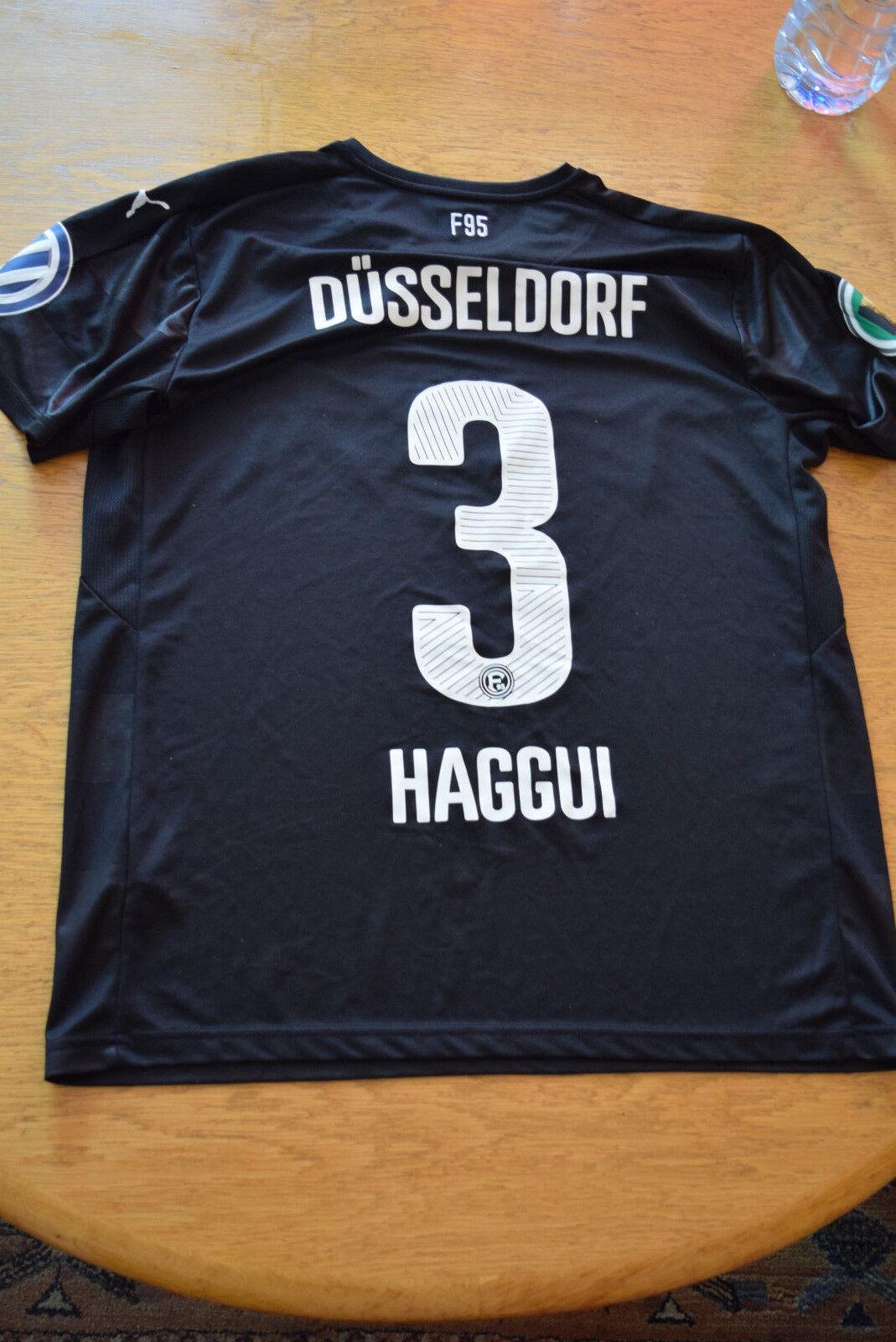 Matchworn Fortuna Düsseldorf  3 Haggui (DFB-Pokal)  | Online Shop Europe