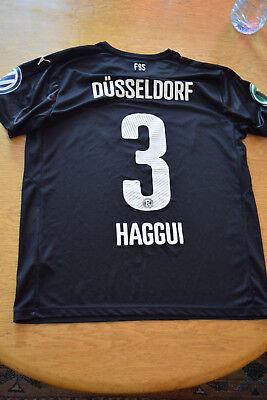 *matchworn* Fortuna Düsseldorf #3 Haggui (dfb-pokal)