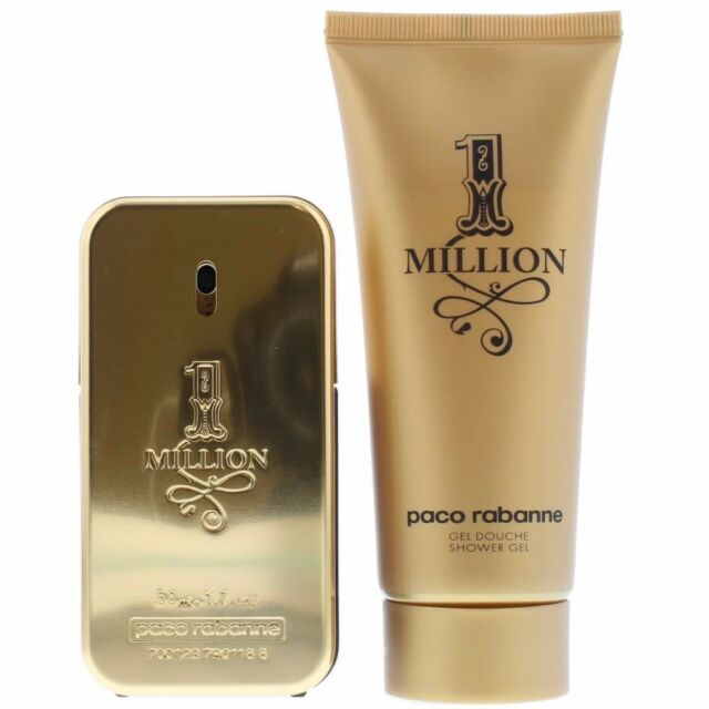 f0f91823b80d Paco Rabanne 1 Million Eau de Toilette 50ml & Shower Gel 100ml Gift Set For  Him
