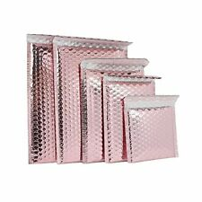 Poly Bubble Mailers 00 Rose Gold Heavy Duty Metallic Christmas Bubble 7 X 9