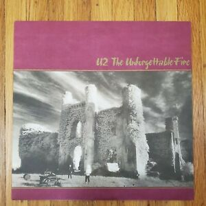 U2-The-Unforgettable-Fire-1984-NM-Vinyl-LP-NM-Record-Cover-Island-90231-1-Beauty