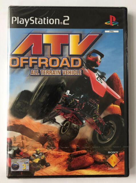 PS2 ATV Offroad (2001), UK Pal, Brand New & Sony Factory Sealed