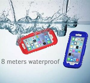Water-Resistant-Shockproof-PC-Swimming-Diving-Cover-Case-For-iPhone-6-6s-Plus