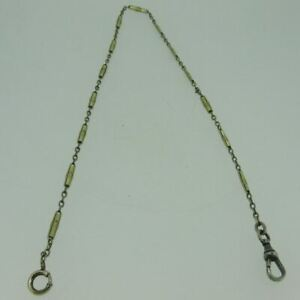 Antique Sovereign 14k Gold Filled Detailed Pocket Watch Chain