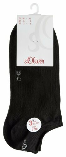 9 12 15 paia S Oliver Sneaker Quarter albero in Lana Calze POLARZIP corto da uomo