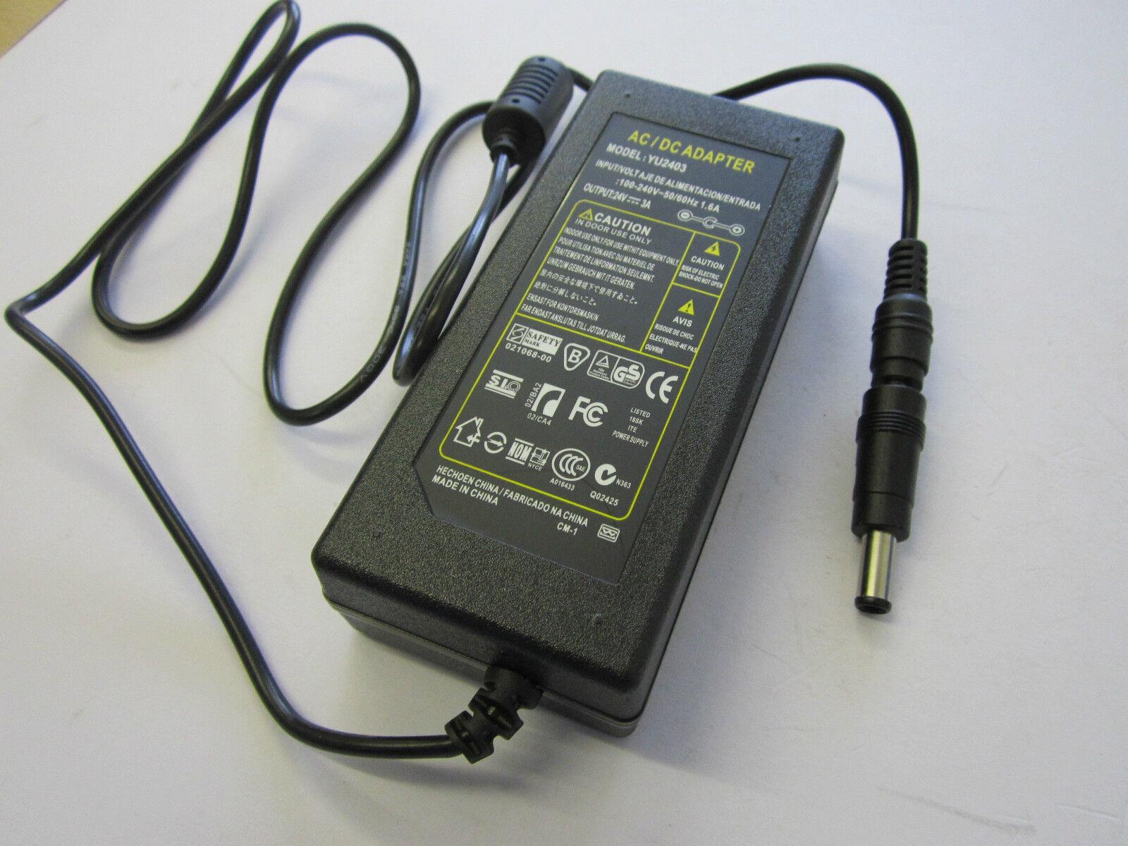 24V AC Adaptor Power Supply for Roland Desktop Vinyl Cutter | CAMM-1 Servo GS-24