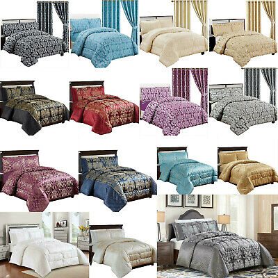 Jacquard Quilted Bedspread Comforter, What Size Is A Super King Bedspread