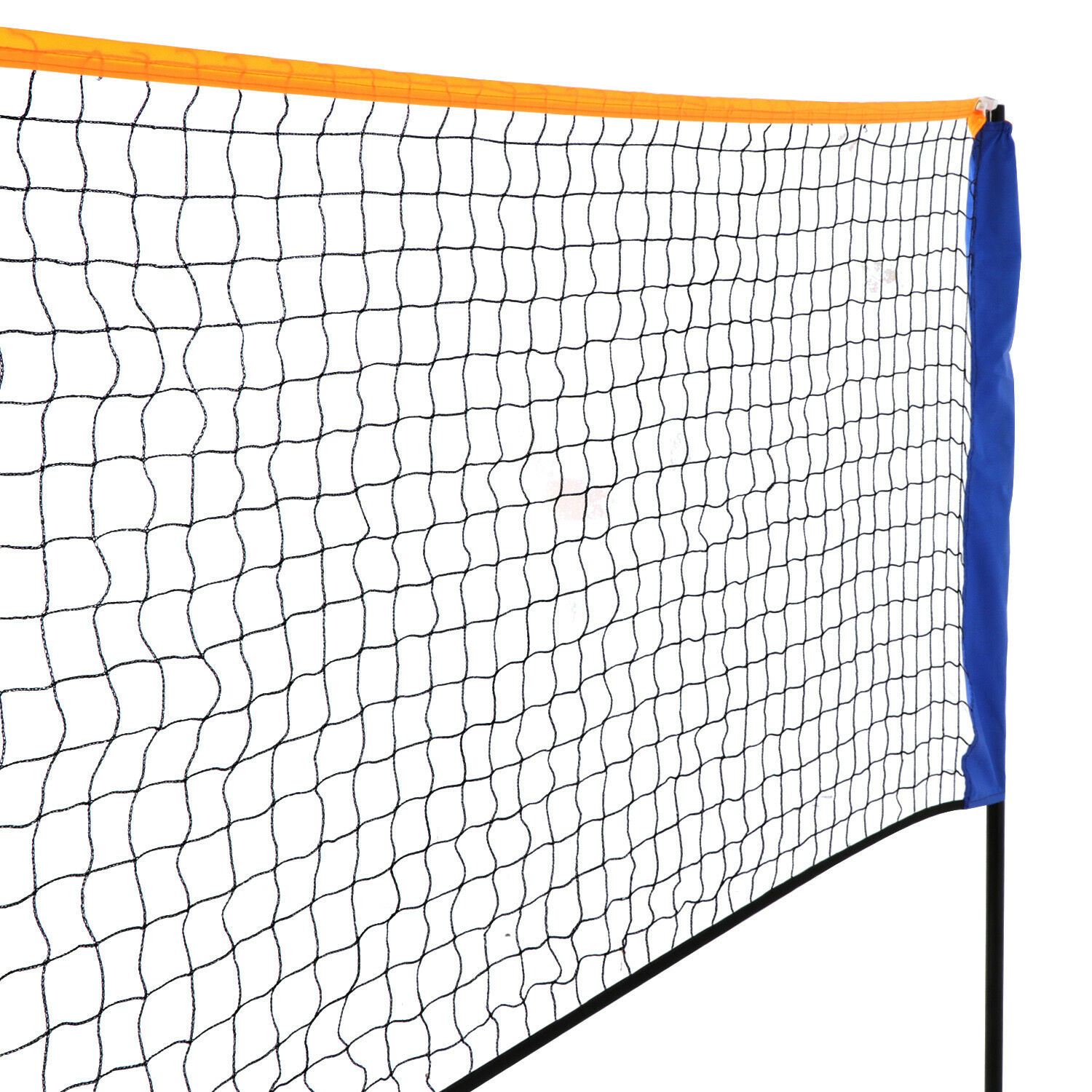 Hezhu 5m Adjustable Foldable Badminton Tennis Volleyball Net Outdoor Net Best Gift for Kids and Adults