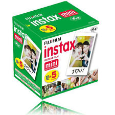 50 Sheets Fujifilm Instax Mini Instant Film For Mini  SP-1 90 8 25 7S 50S Camera