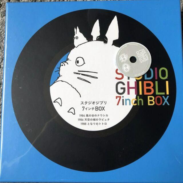 "VARIOUS - Studio Ghibli 7"" Box (remastered) - 5 X 7"" Vinyl New & Sealed"