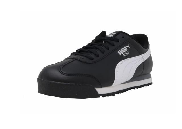 Puma Roma Basic Shoes Black White