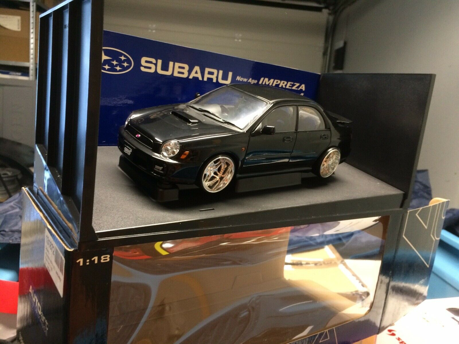 Autoart Subaru Impreza Wrx Sti  1 18 Tuning  pas cher et de haute qualité