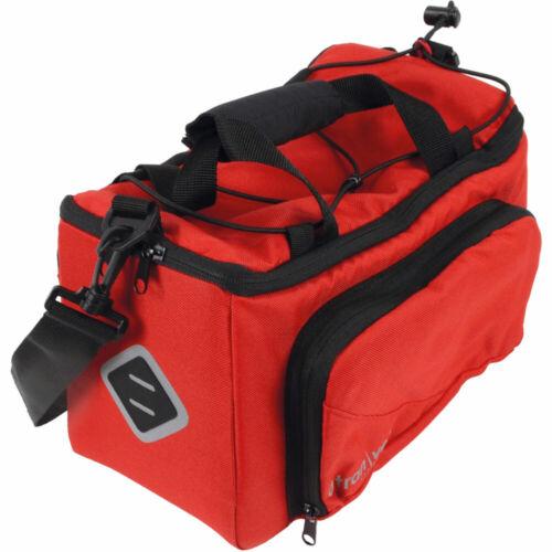 AtranVelo Gepäckträgertasche Zap Volumen 10,5l 8l rot Fahrrad