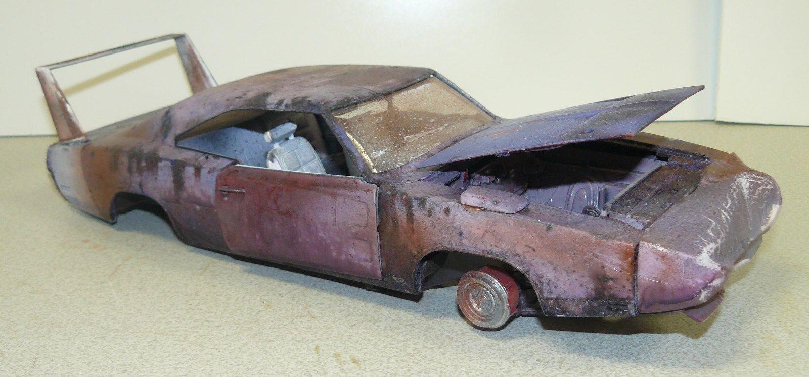 1/18 custom made 1969 Dodge Daytona , rat rod , rusty,