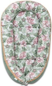 Sleepyhead-Baby-Nest-Bed-Newborn-Double-Sided-Pod-Sleeping-Baby-Bed-Floral