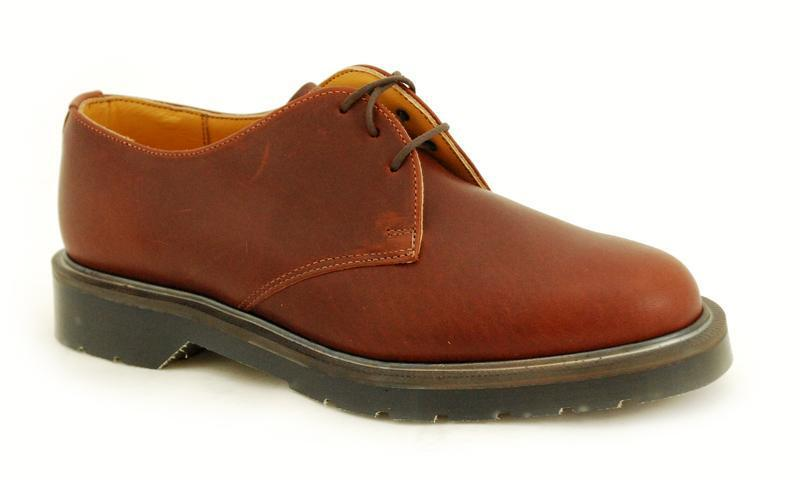 Solovair England NPS Schuhes Made in England Solovair 3 Eye Mombasa Schuhe S023-L3995MOM 66f167