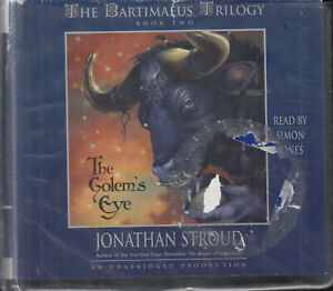 Jonathan-Stroud-The-Golem-039-s-Eye-Bartimaeus-Trilogy-2-14CD-Audio-Book-Unabridged