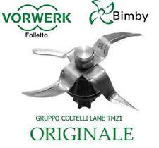 GRUPPO COLTELLI ORIGINALE BIMBY MOD. TM21