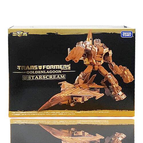 Transformers 100/% Takara 35th Lagoon Golden Starscream Exclusive Ver