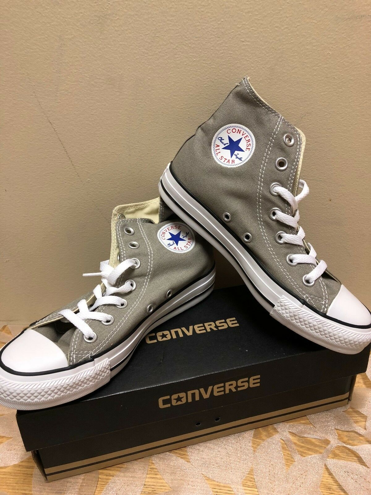 CONVERSE CT HI OLD SILVER BRAND NEW HIGH TOP With Original Box in Various Sizes