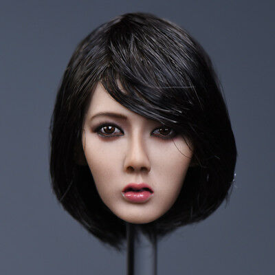 Ymtoys 1 6 Asia Women Short Hair Head Carving Xiu Fit 12 Phicen Female Figures Ebay We've collected some of the best short hairstyles for women over 50 that are easy to care for. ebay