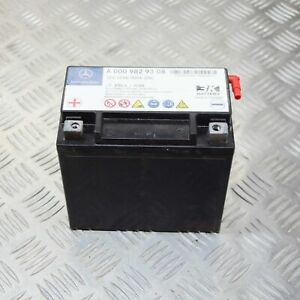 MERCEDES-BENZ-E-S212-Auxiliary-Battery-A0009829308-12V-12Ah-200A-2-1D-125kw-2014