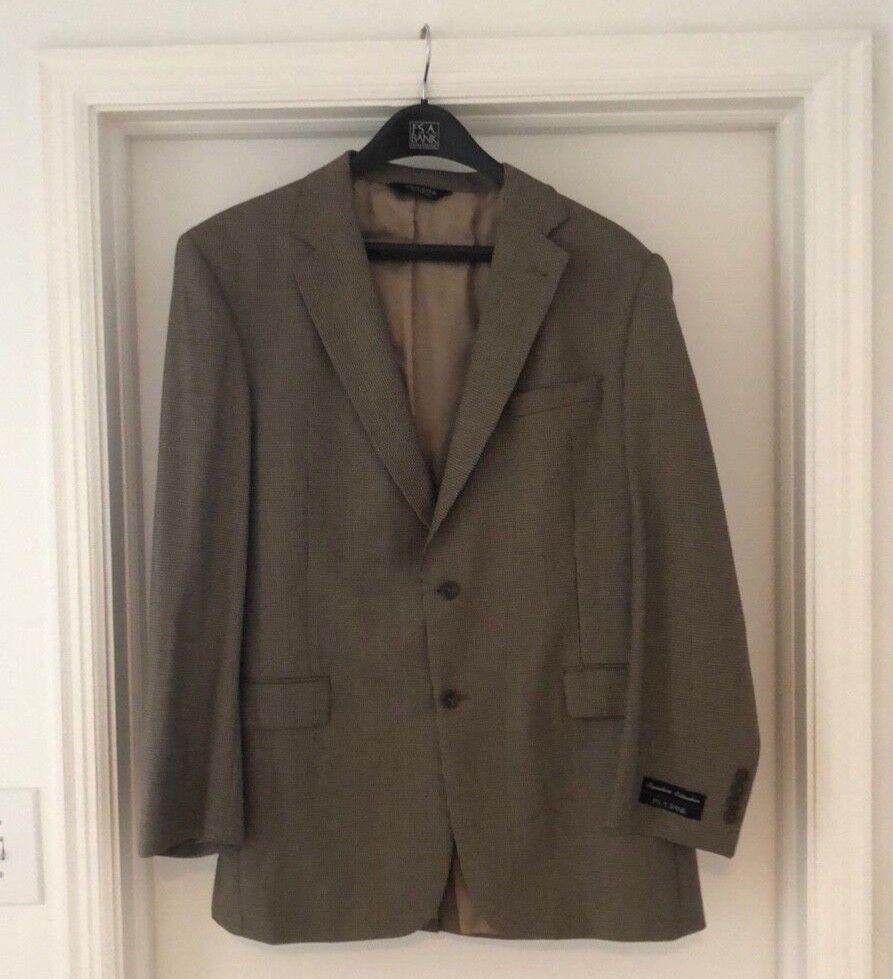 jos. a. bank herringbone sport coat Größe 44 long NEW