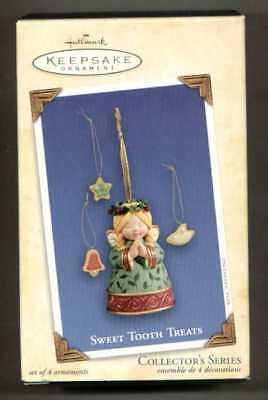 Hallmark 2004 Sweet Tooth Treats #3 Series Angel Cookie Jar Christmas Ornament