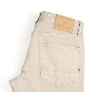 Scotch & Soda Hommes Ralston Slim Jeans Extensible Taille W32 L34 AVZ1506
