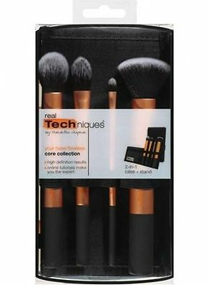 New Pro Real TECHNIQUES Makeup Brushes Core Collection/Starter Kit/Sam+Nic Pick