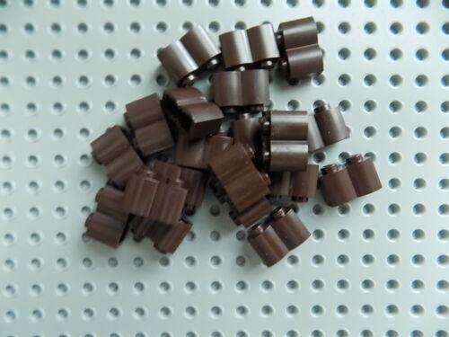 LEGO 1x2 Brick Logs Palisade Fort  30136 Castle        20 pieces pick your color