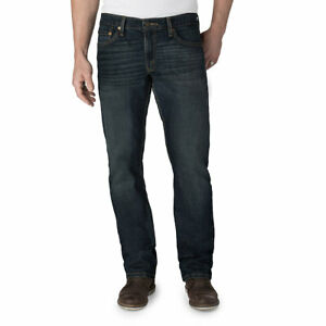Signature-By-Levi-Strauss-amp-Co-Gold-Label-Mens-Bigfoot-Straight-Denim-Jeans