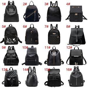 Women Backpack PU Leather Shoulder Bag Handbag Girls Schoolbag Tote Rucksack Lot