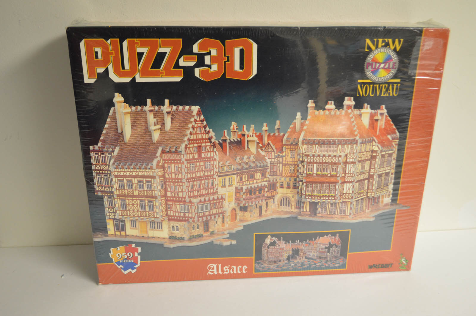 Puzz-3D Puzzle ALSACE NEW SEALED 959 Pieces