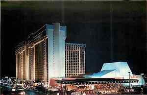 Las Vegas Nv Mgm Grand Hotel Casino Nachtsicht Chrom Postkarte Ebay