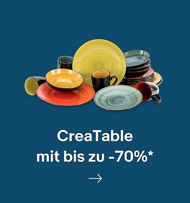 CreaTable mit bis zu -70%*