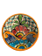 Colorful-Decorative-Mexican-Style-Fiesta-Bowl-Mexican-Fiesta-Tableware thumbnail 1