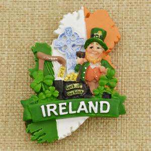 Ireland-3D-Resin-Fridge-Magnet-Tourism-Souvenirs-Refrigerator-Magnetic-Sticker