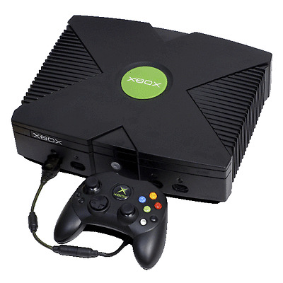 Microsoft Xbox Original Black Console