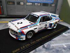 BMW 3.0 CSL Faltz Alpina Weisberg #2 ETCC 1975 Grohs K 1/300 lim Spark lim 1:43