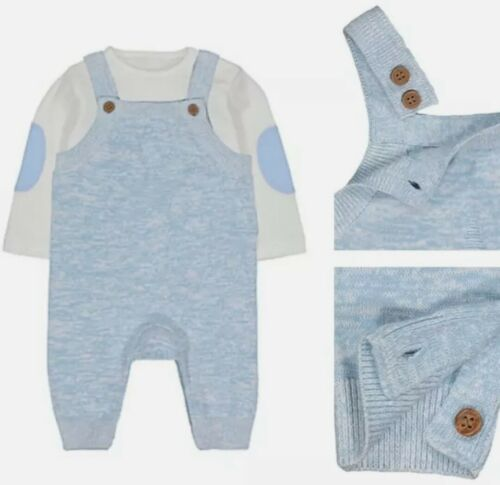 Mothercare My First Baby Boys Dungarees OutfitTiny Prem ~ 6-9 Months