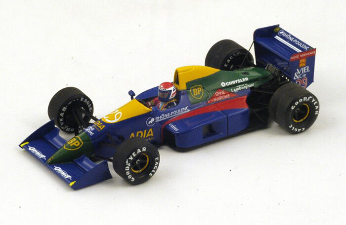 LOLA LC89 n°29 GP F1 France 1989 Eric Bernard