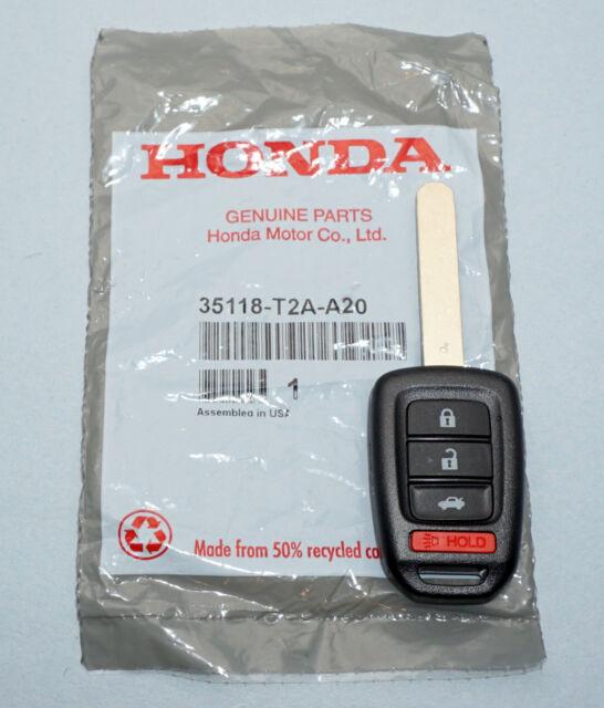OEM 2013 2014 2015 HONDA ACCORD CIVIC KEYLESS REMOTE HEAD FOB 35118-T2A-A20
