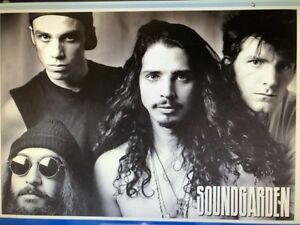 SOUNDGARDEN GROUP 24X32 POSTER ROCK MUSIC CLASSIC SEATTLE BAND CHRIS CORNELL HIP