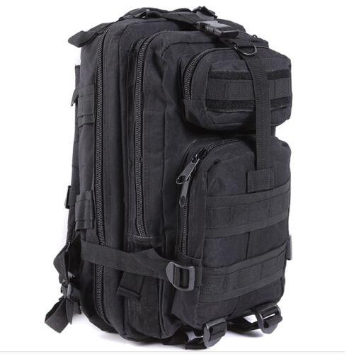 Hiking Camping Bag Army Military Tactical Trekking Rucksack Backpack Camo  30L