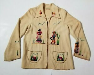 VTG-039-40s-Guillermo-Guevara-Embroidered-Mexican-Wool-Coat-Jacket-Hand-Embroidered