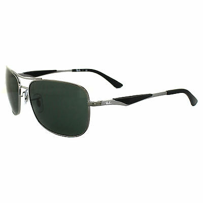Ray-Ban Sunglasses 3515 004/71 Gunmetal Green