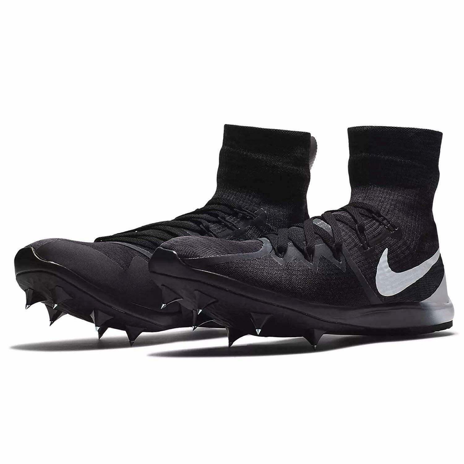 NEW Mens NIKE Zoom Victory 4 XC Spike Cleats Running shoes 878804 Black 9 9.5 12