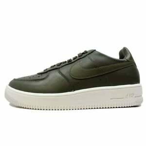 Nike-Air-Force-1-UltraForce-Cuir-vert-olive-845052-201-UE-43-UK-8-5